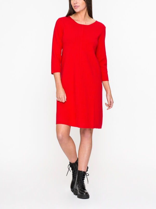3/4 Sleeves Knitted Dress