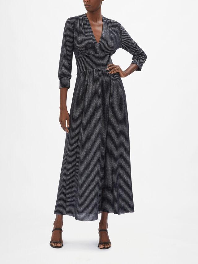 Mandorlo V Neck Maxi Dress