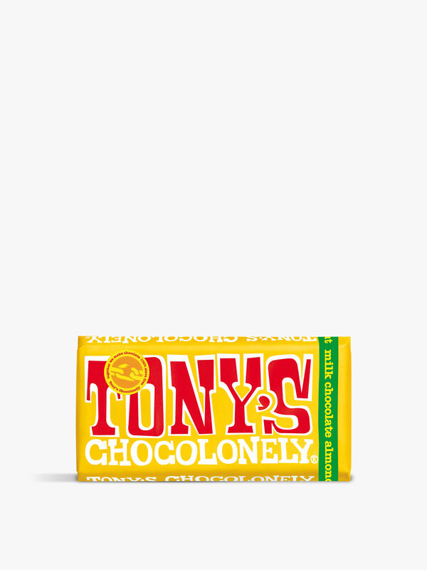 Tony's 32% Milk Almond Honey Nougat Bar