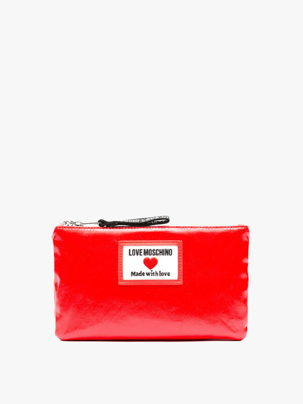 Canvas Love Moschino Wallet on Chain