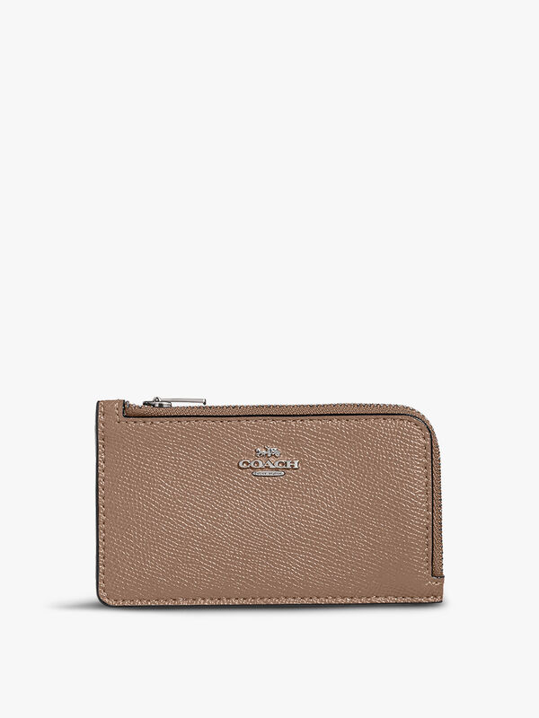 Small Zip Card Case