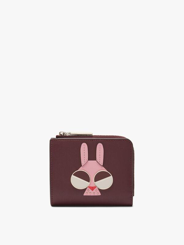 Spademals Money Bunny Small Bifold Wallet