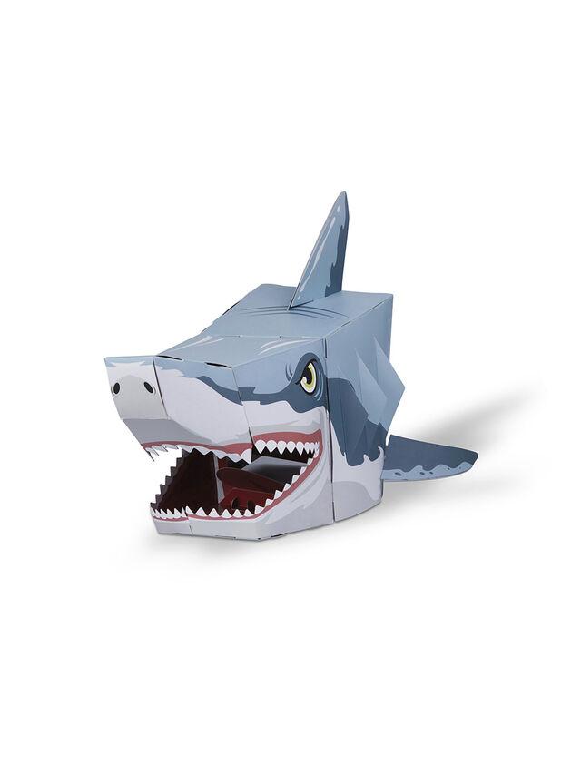 Shark 3D Mask Card Craft