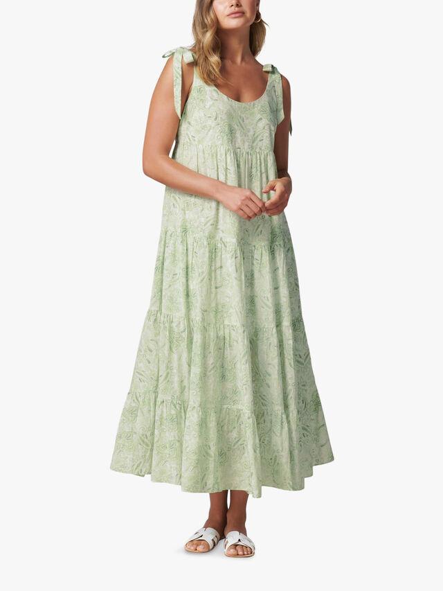 Nicole Tiered Midi Dress