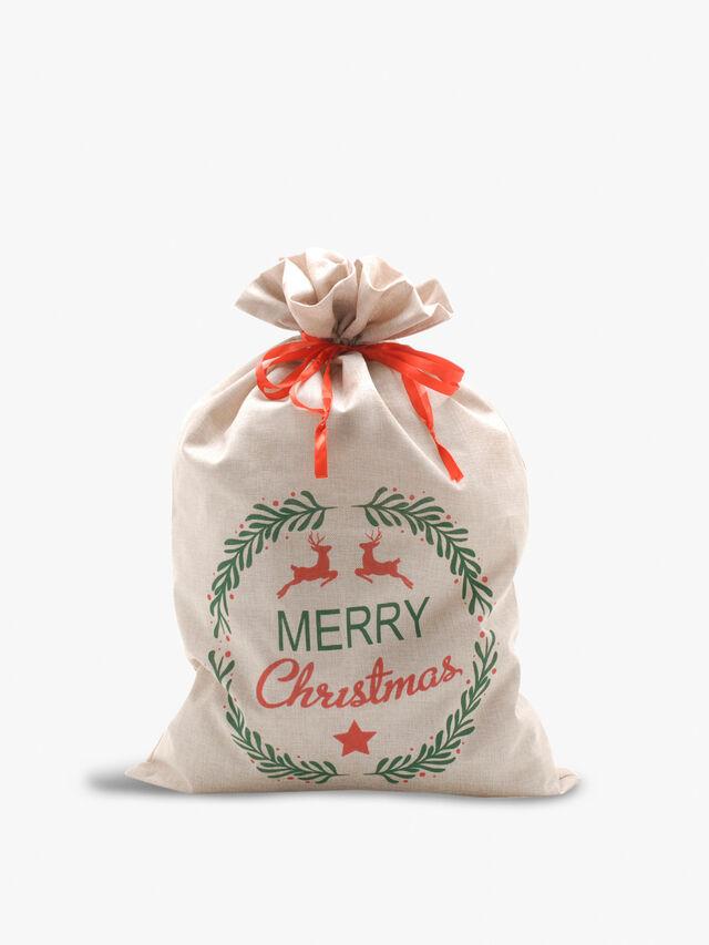 Merry Christmas Sack 85cm