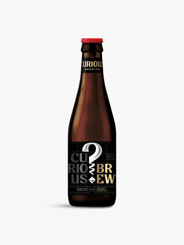 Brew Lager bottles 330ml