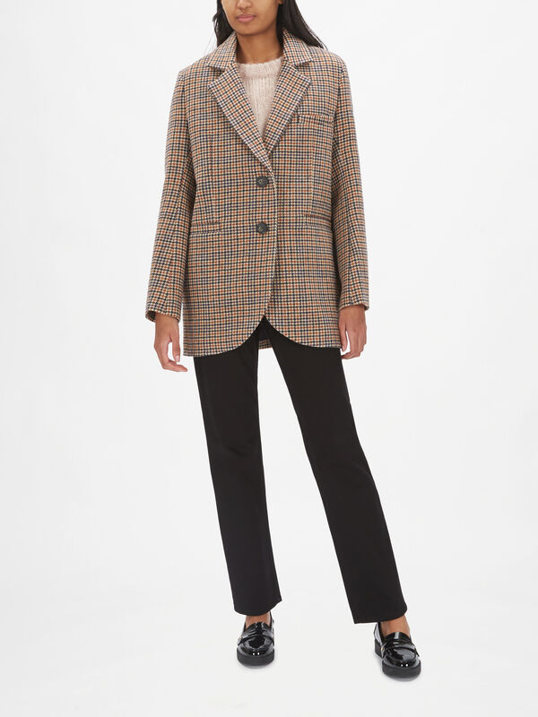 Marc Checked Blazer