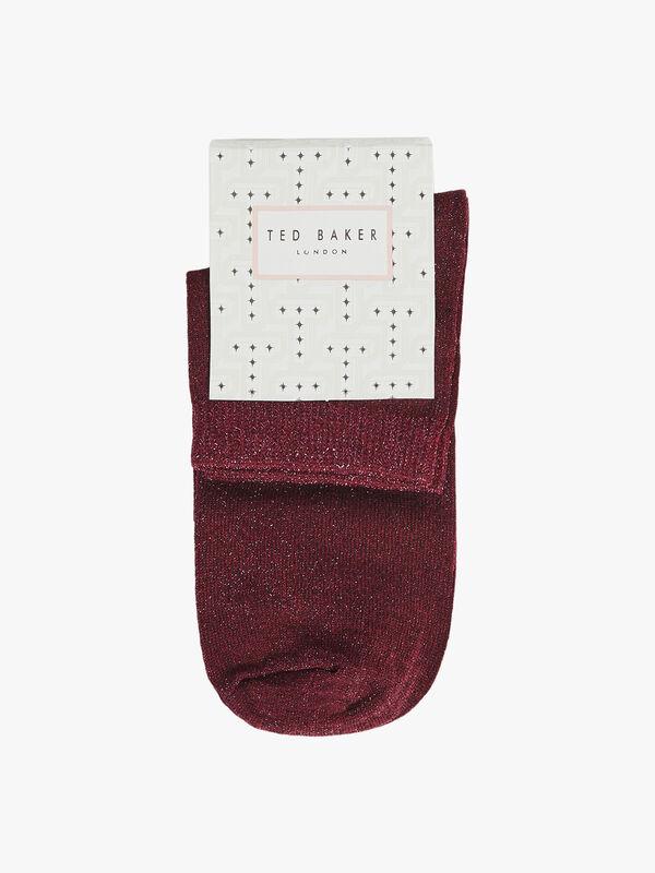 LUSTIA Lurex Single Sock