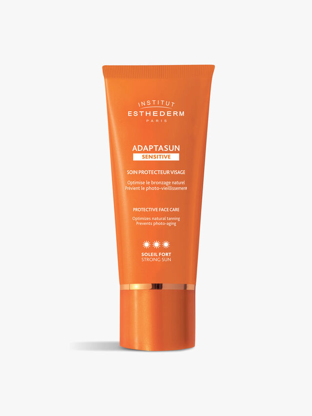 Adaptasun Protective Tanning Suncare Sensitive Face Cream - Strong