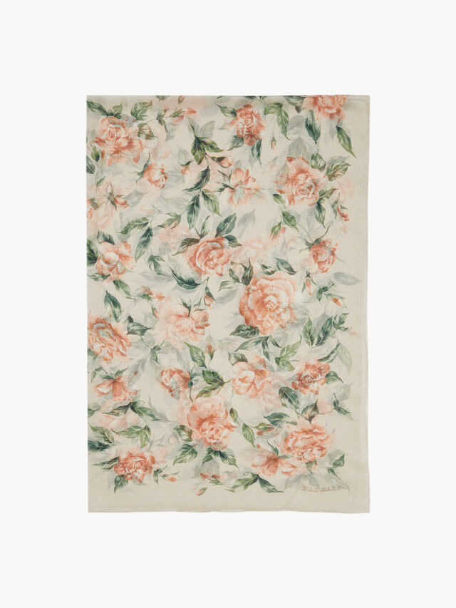 Dimma Floral Stole