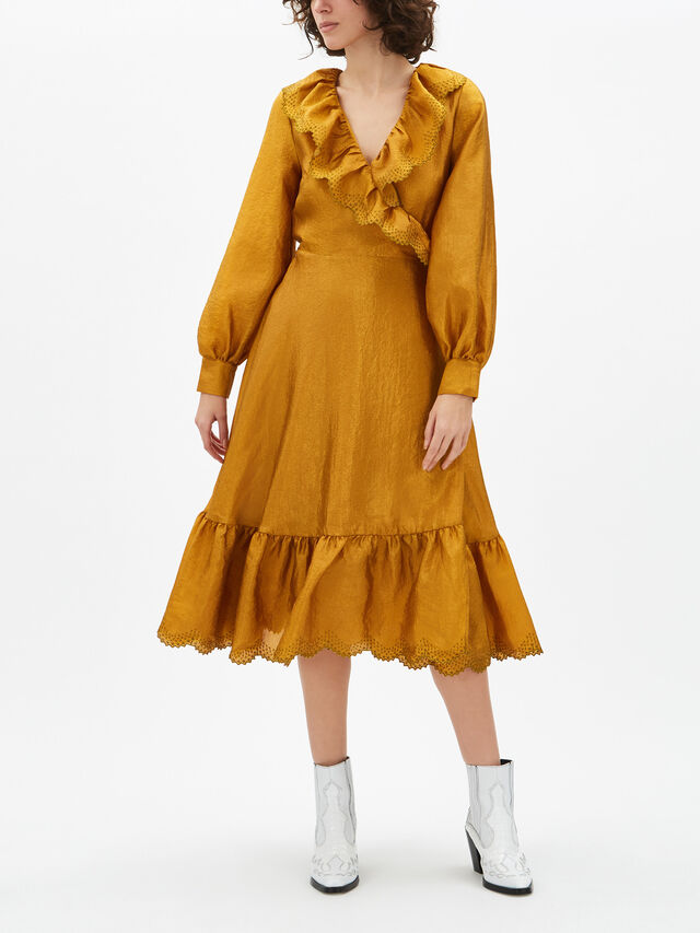 Steffi Midi Wrap Dress