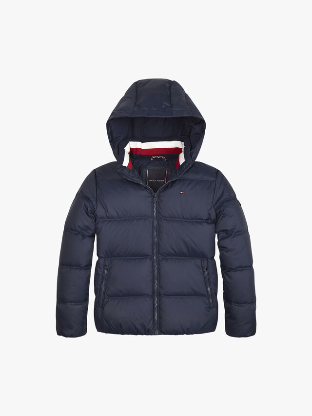 Essential Removable Hood Down Jacket