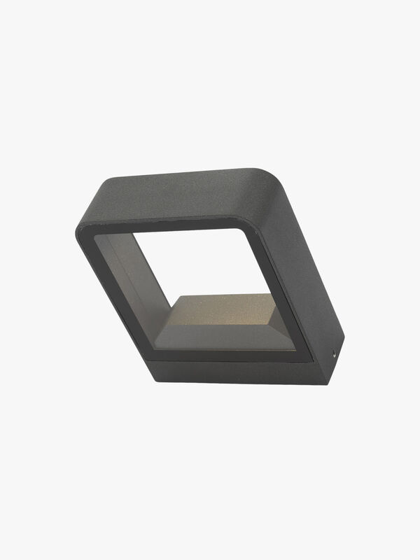 Malone Square Outdoor Up & Down LED Wall Light