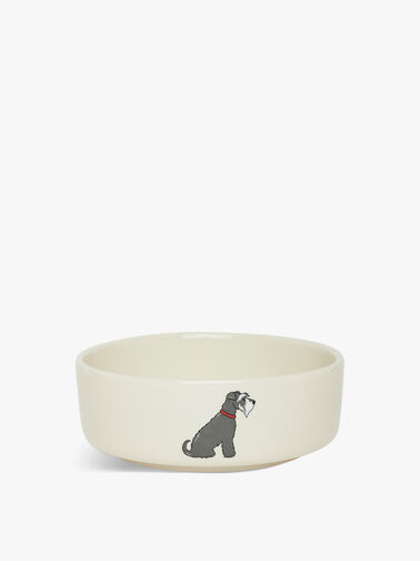 Small Schnauzer Dog Bowl