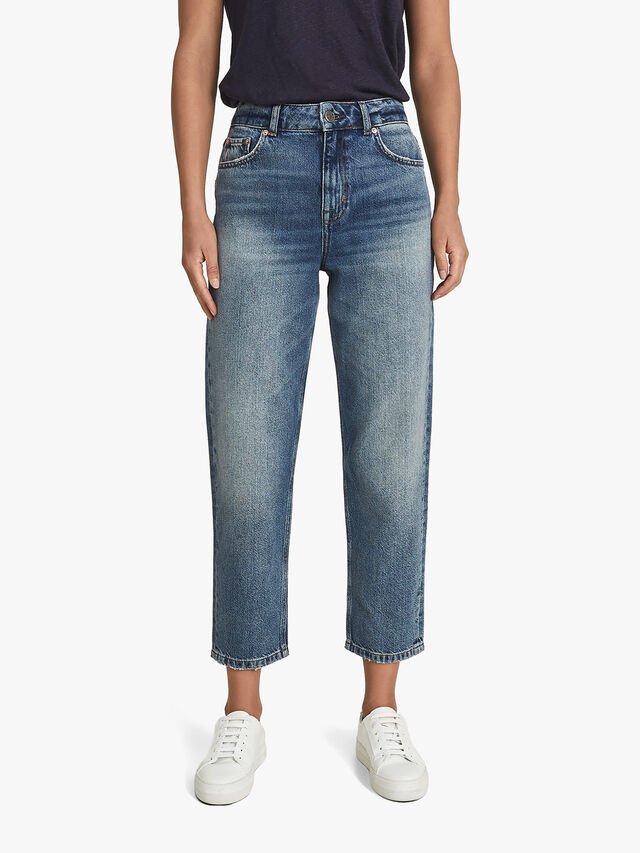 Elle High Rise Straight Leg Jeans