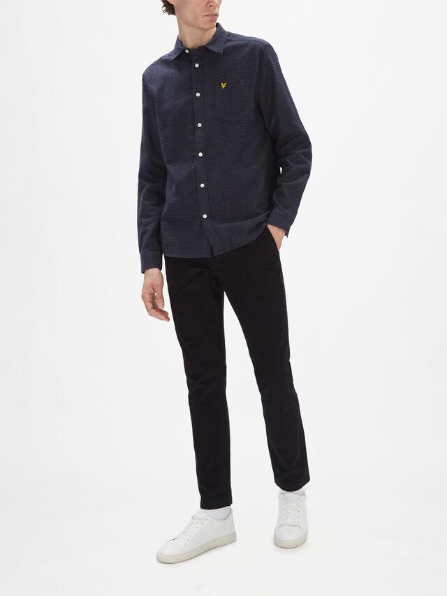 Tweed Check Shirt