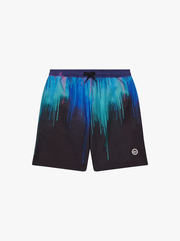 Neon Drips Swimshorts