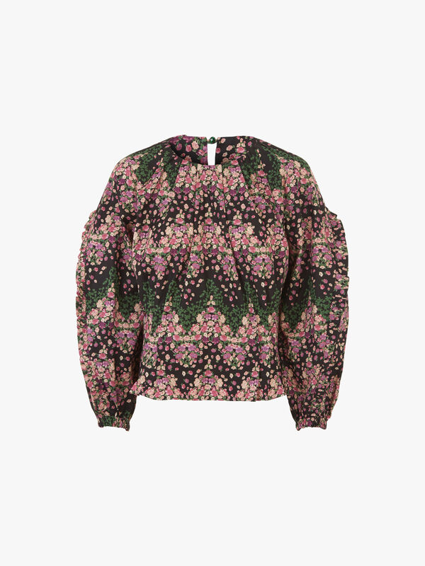 Lidl Flower Blouse