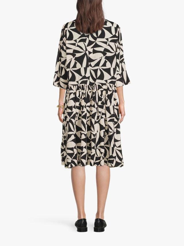 Naya Mono Print Dress