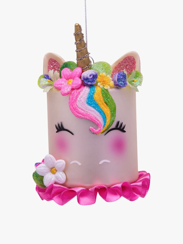 Unicorn Cake Christmas Decoration