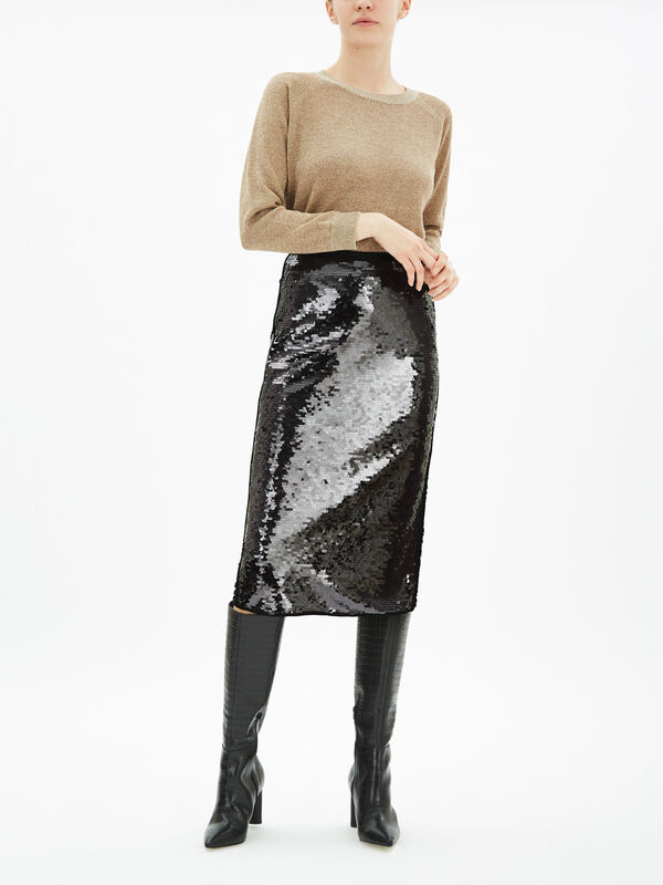 Album Sequin Skirt