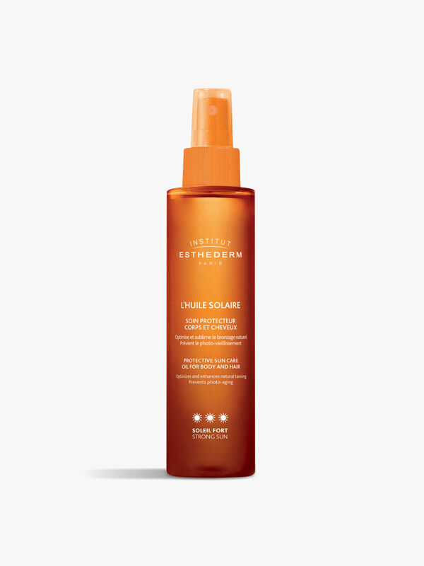 Suncare Protective Tanning Oil Hair And Body - Strong