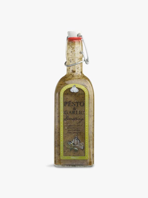 Pesto and Garlic Dressing 500ml