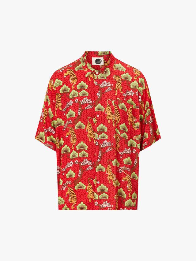 Tora Open Collar Shirt