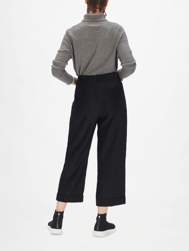 Cord Wide Leg Trousers