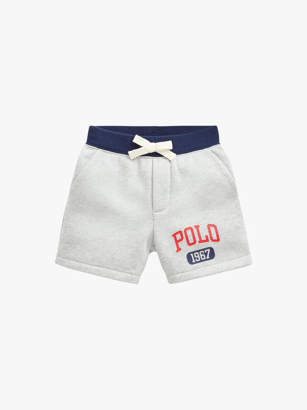 Fleece Polo Logo Shorts