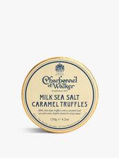 Dark Sea Salt Milk Caramel Truffles