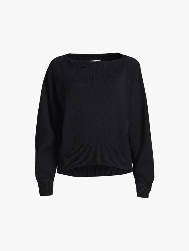 Slouch Crew Neck Knit