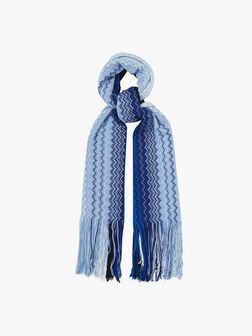 Degrede Chevron Scarf