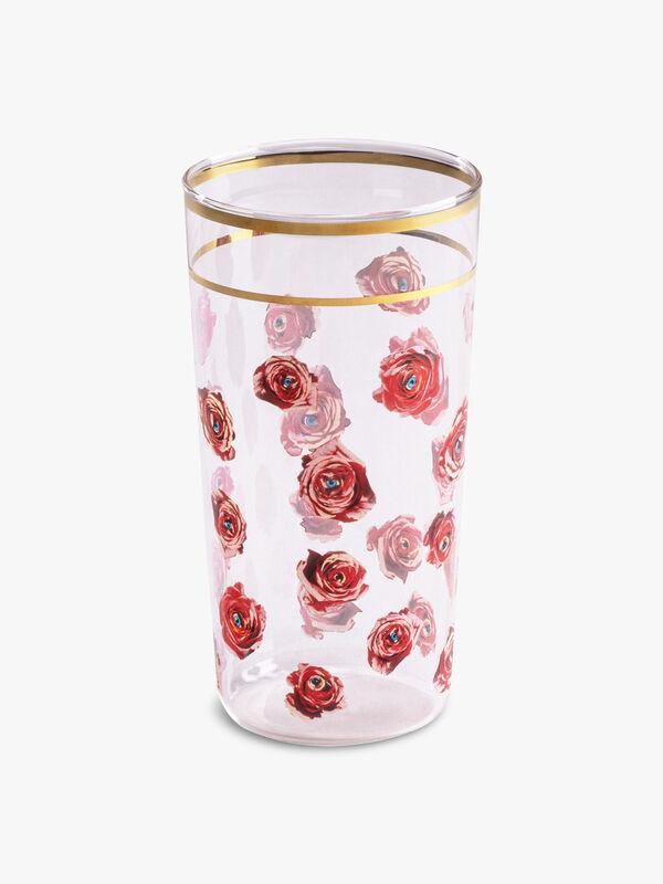 Toiletpaper Roses Glass
