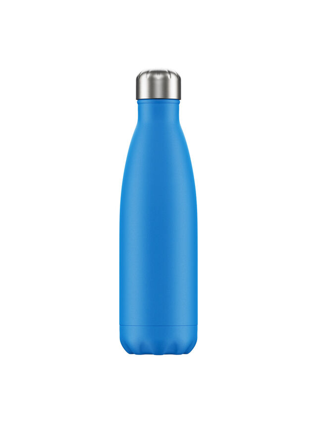 Neon Blue Water Bottle