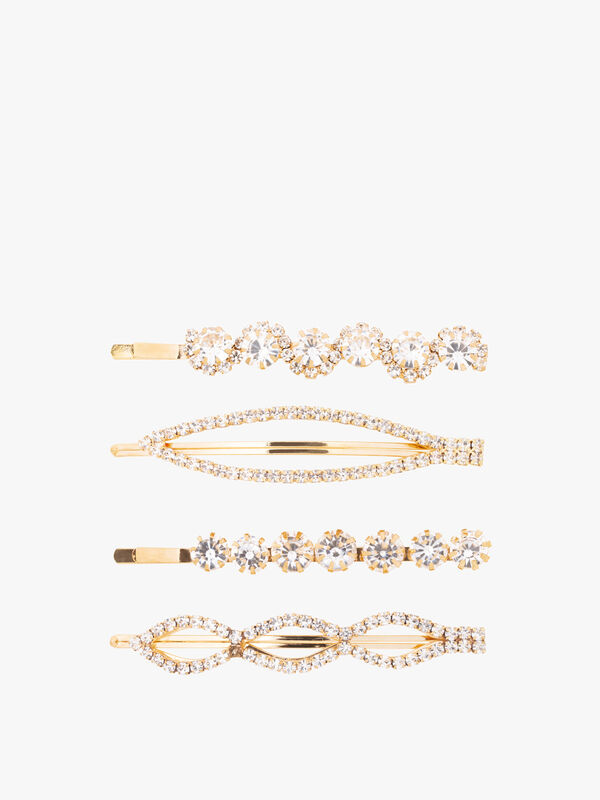 Crystal Bobby Four Pack