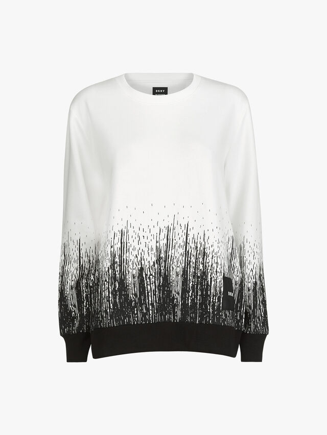 Long Sleeve Ombre Everywhere Sweatshirt