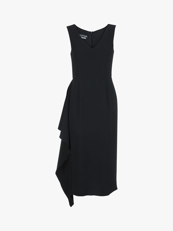 Sleeveless Hem Detail Dress