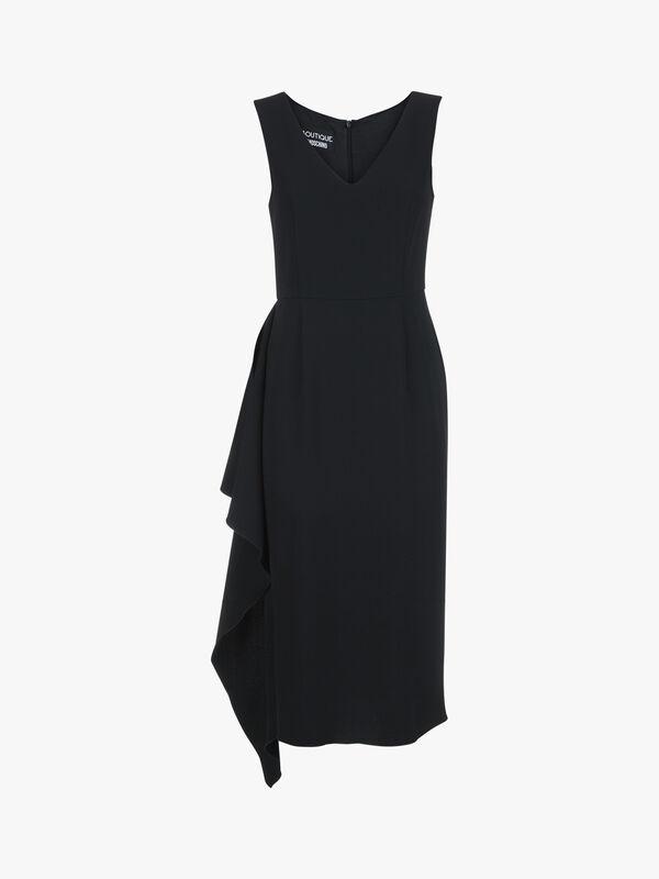 Sleeveless Hem Detail Dress