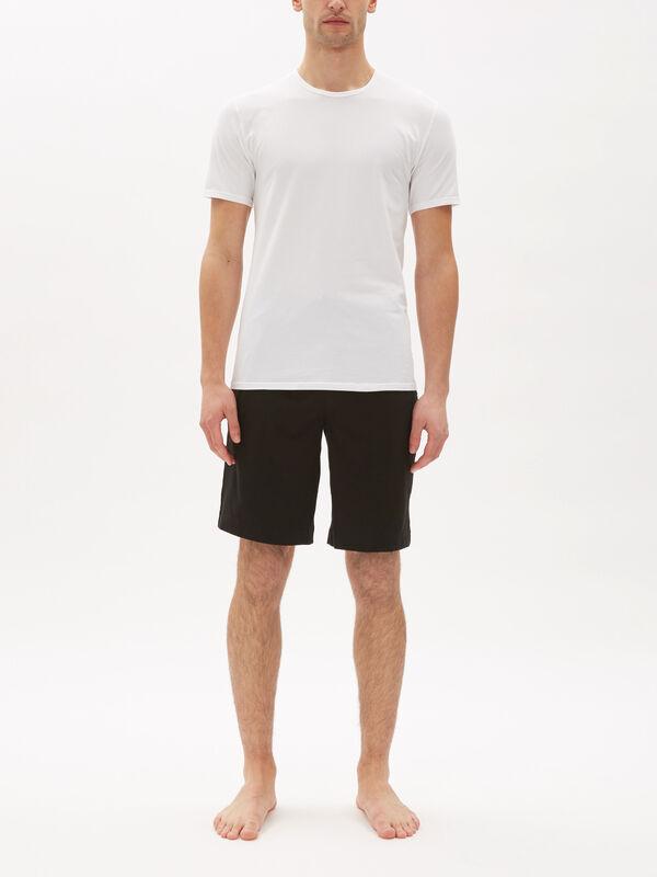 2 Pack ID Slim Fit Crew Neck T-Shirt