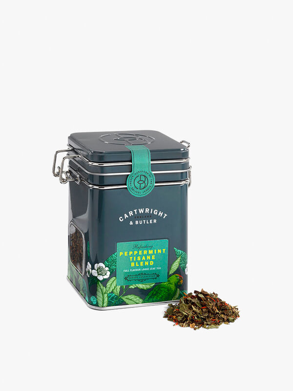 Peppermint Tea Caddy