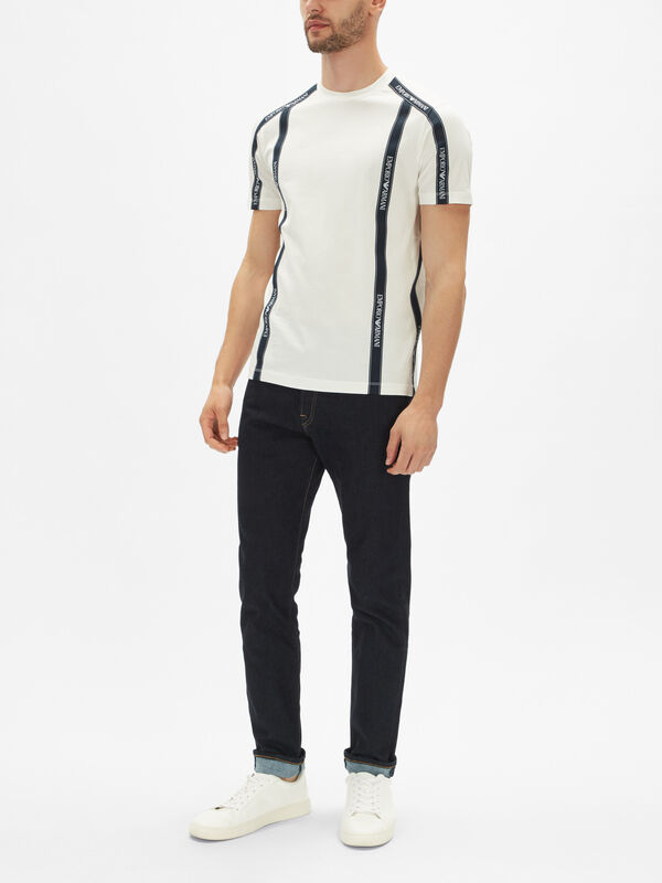 Short Sleeve Taped T-Shirt