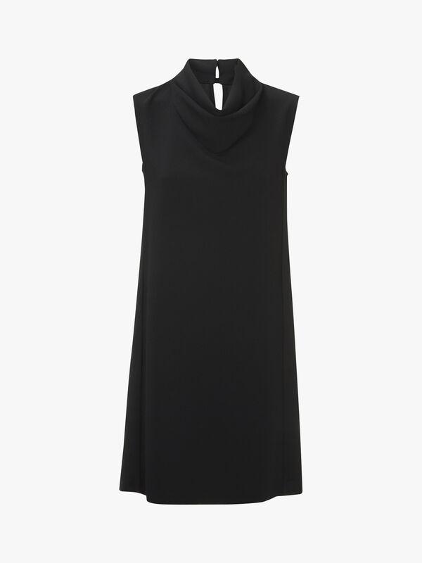 Good Sleeveless High Neck Dress