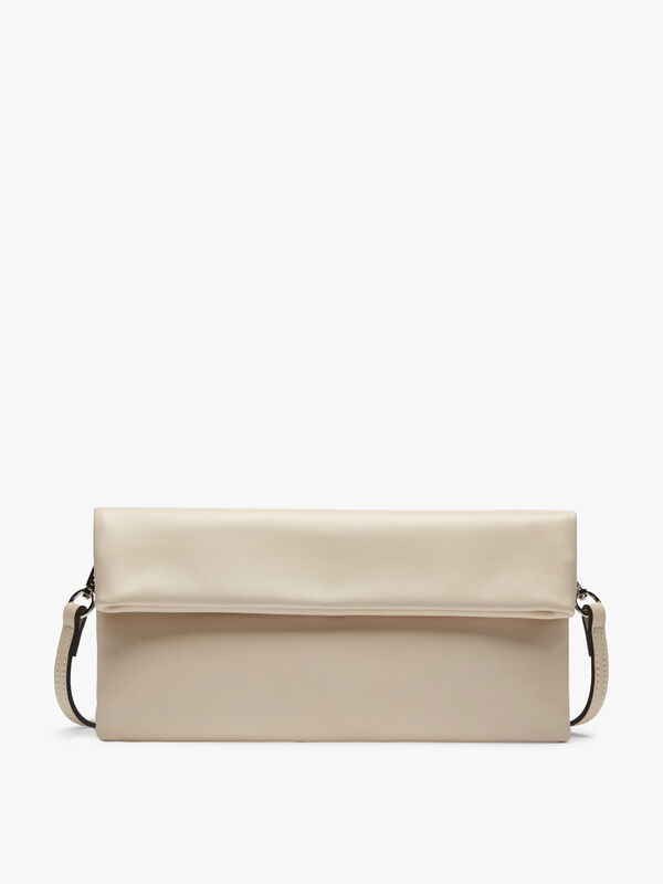 Cherry Classic Flap Over Clutch