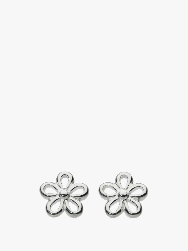 Simple Flower Stud Earrings