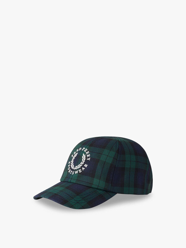 Black Watch Tartan Cap