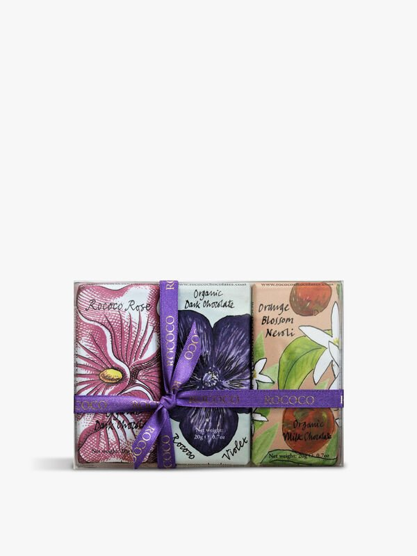 Set of 3 Floral Mini Bars