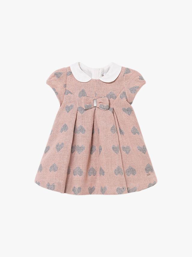 Jacquard Hearts Dress