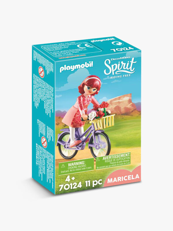 DreamWorks Spirit© Maricela with Bicycle