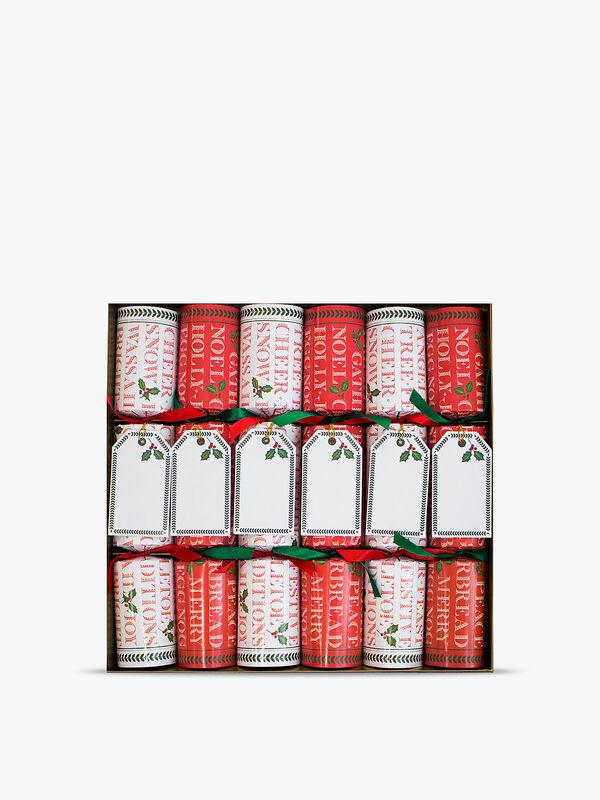 Yuletide Cheer Crackers Box of 6